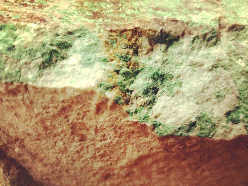De natuurlijke Minerale Textuur van de Malachietrots stock fotografie