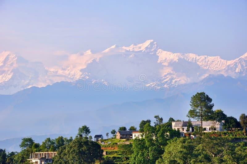 De natuurlijke schoonheid van Nepal royalty-vrije stock afbeelding