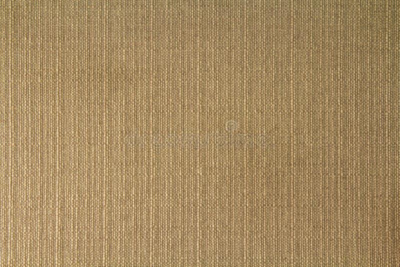 De natuurlijke textuur van het stoffenlinnen voor ontwerp, geweven jute bro royalty-vrije stock foto