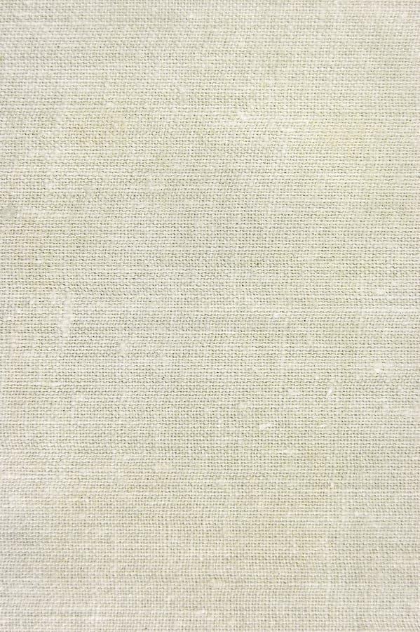De natuurlijke uitstekende textuur van de linnenjute, beige tan, royalty-vrije stock foto