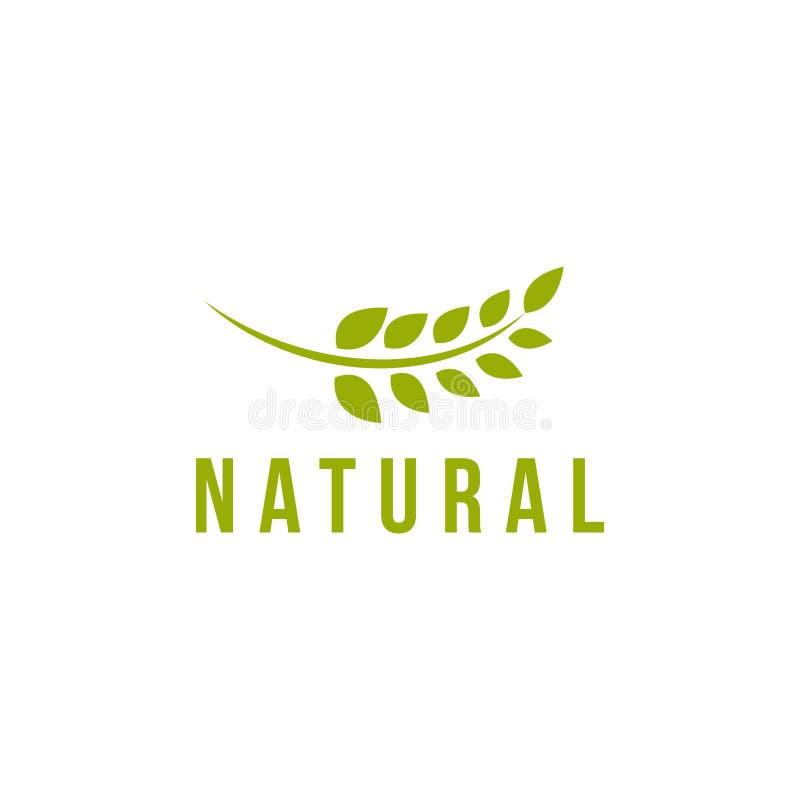De natuurlijke Vectorillustratie van het Malplaatjeontwerp vector illustratie