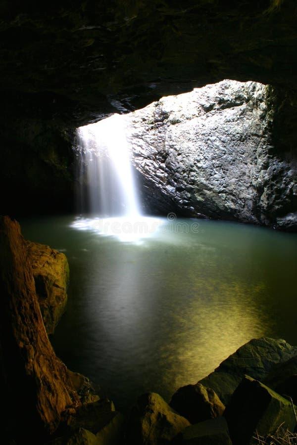 De natuurlijke Waterval van de Brug royalty-vrije stock afbeelding