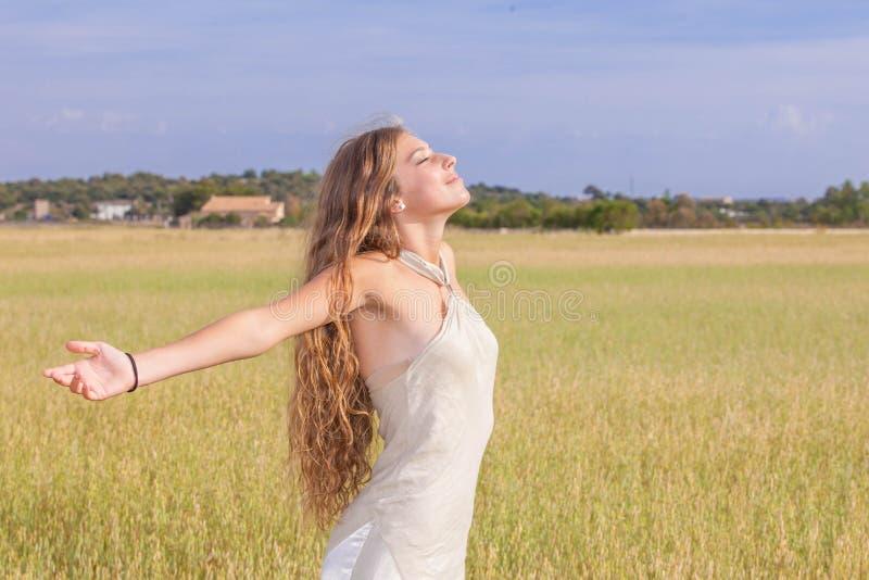 De natuurlijke zonneschijn van de schoonheidszomer royalty-vrije stock afbeeldingen