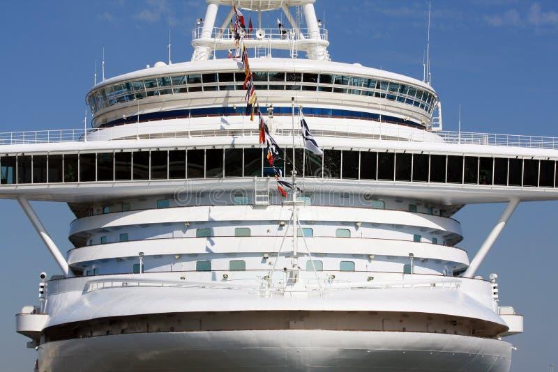 De navigatiebrug van het cruiseschip van liefde royalty-vrije stock afbeelding