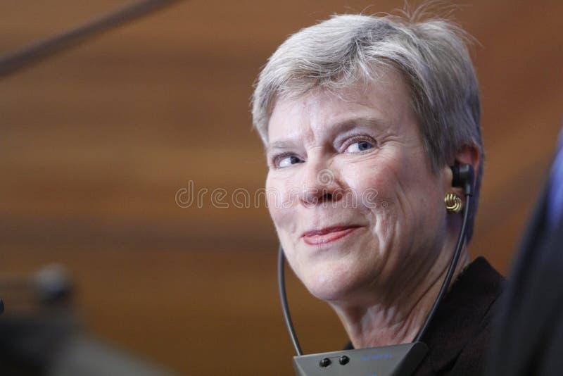 De NAVO Afgevaardigde Secretaris-generaal Rose Gottemoeller royalty-vrije stock afbeelding