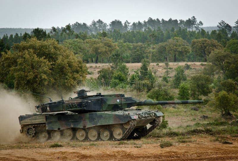 De NAVO troepen klaar voor internationale plaatsing royalty-vrije stock foto's