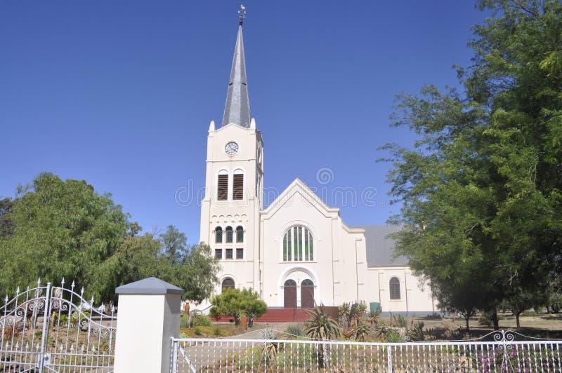 De Nederlandse Opnieuw gevormde Kerk Steytlerville stock fotografie