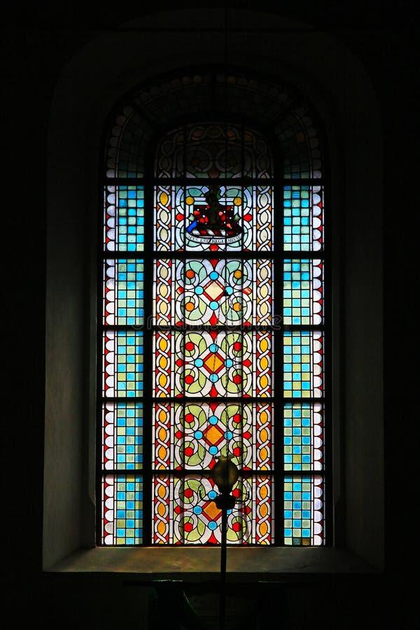 De Nederlandse Opnieuw gevormde Kerk van het Gallefort, Sri Lanka-de Werelderfenis van Unesco royalty-vrije stock afbeelding