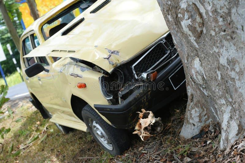 De Neerstorting van de auto #2 stock foto's