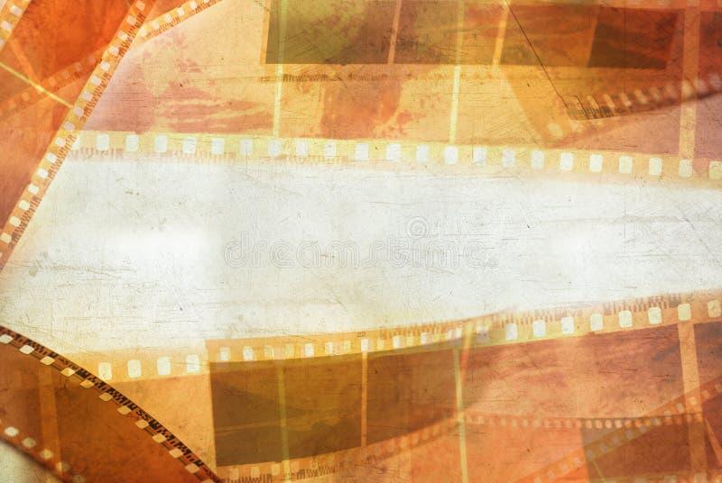 De negatieven van de film stock foto's
