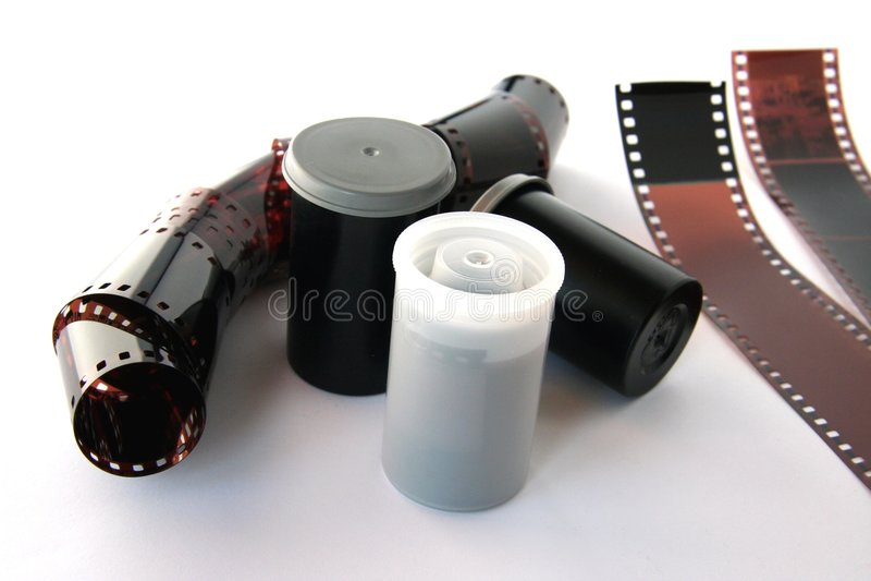 De negatieven van de film. royalty-vrije stock afbeelding