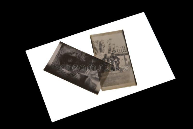 De Negatieven van de foto/Oud stock foto's