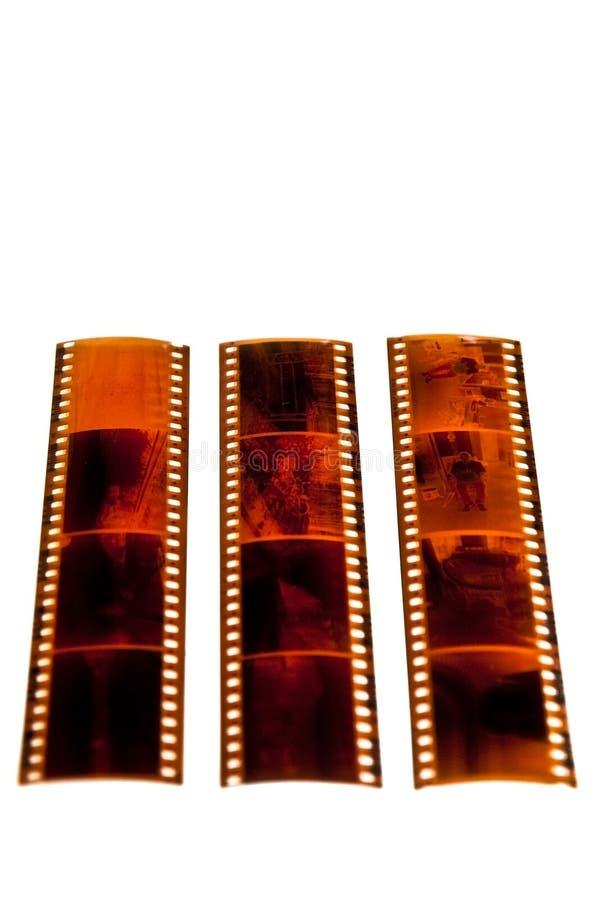 De Negatieven van de Strook van de film royalty-vrije stock afbeelding