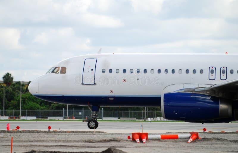 De neus van de jet royalty-vrije stock foto's