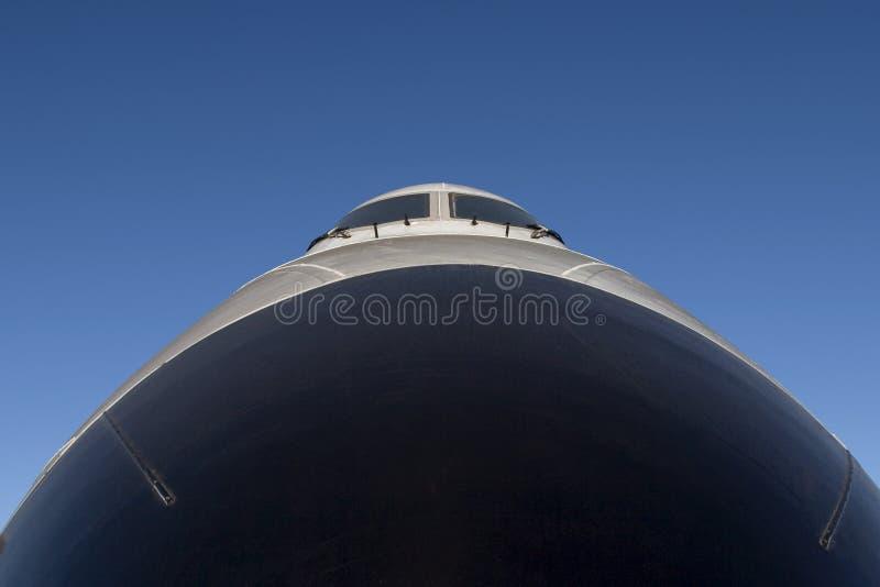 De Neus van het lijnvliegtuig royalty-vrije stock foto's