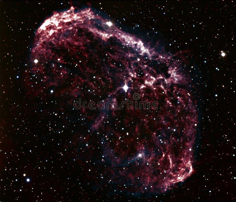 De nevel van de kwal, NGC 6888 royalty-vrije stock afbeelding