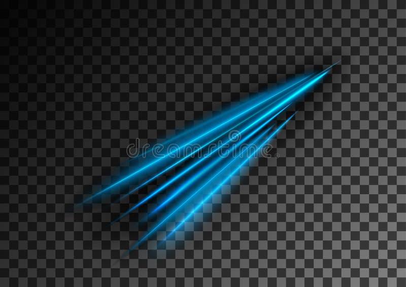 De nevel van neonlijnen vector illustratie