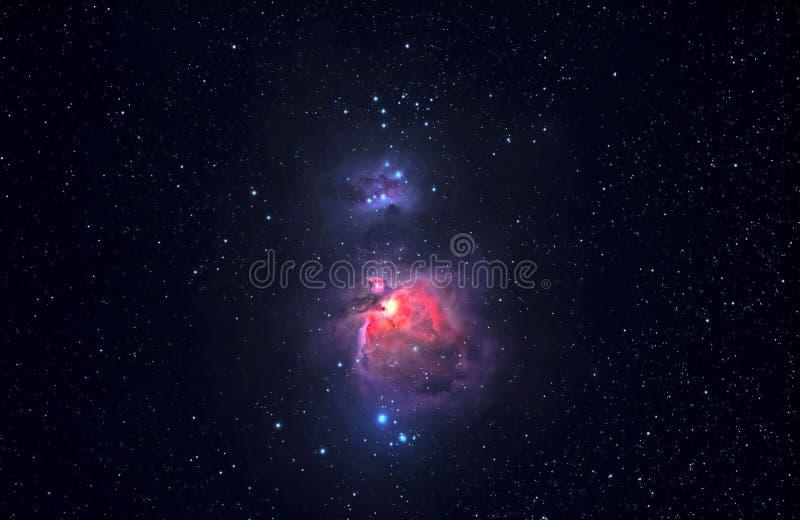 De nevel van Orion stock illustratie