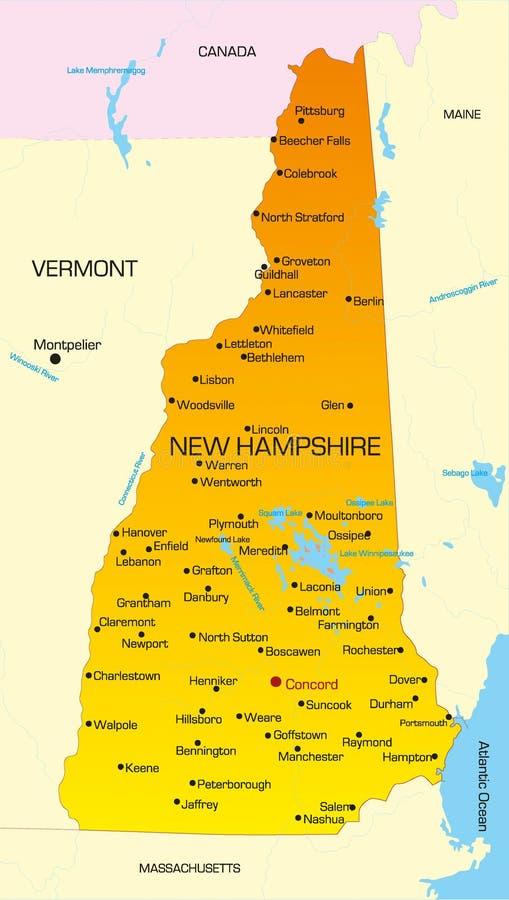 De New Hampshire libre illustration
