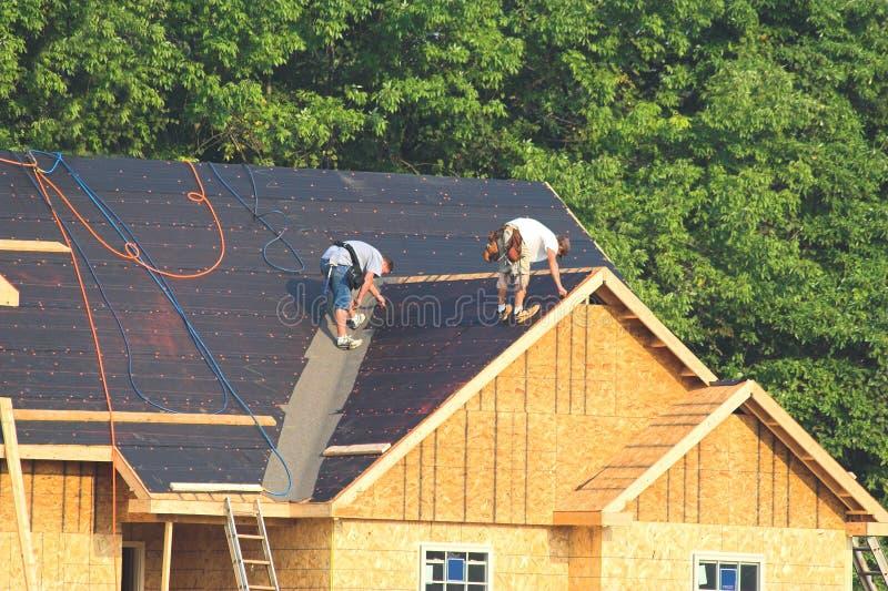 De nieuwe bouw van Huizen royalty-vrije stock foto