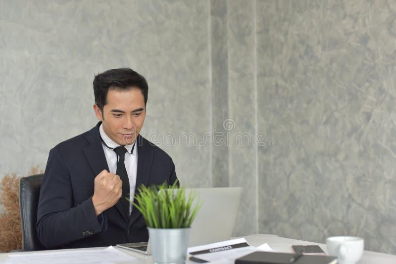 De nieuwe generatie van jonge zakenman royalty-vrije stock foto's