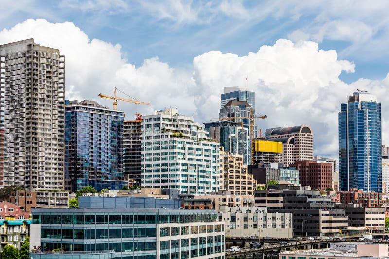 De nieuwe Horizon van Seattle royalty-vrije stock afbeelding