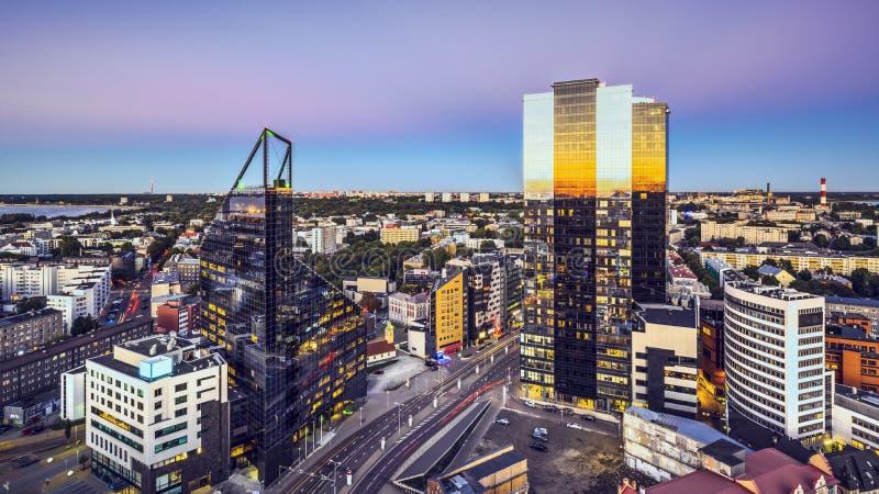 De Nieuwe Stad van Tallinn, Estland royalty-vrije stock foto