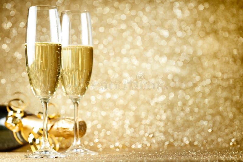 De nieuwe viering van de jarenvooravond royalty-vrije stock afbeelding