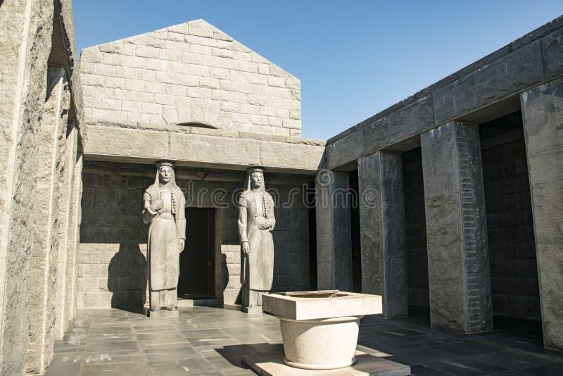 ¡de NjegoÅ del mausoleo imagenes de archivo