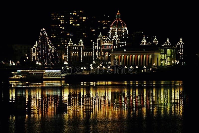 De Noël législature BC photo stock