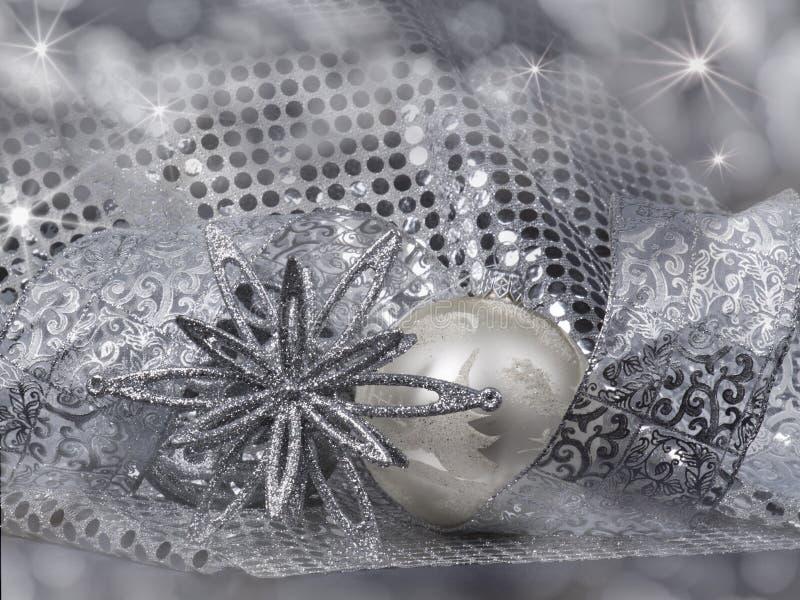 De Noël toujours durée avec des décorations photos libres de droits
