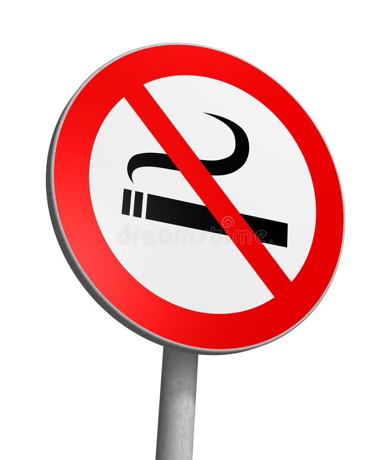 De no fumadores ilustración del vector