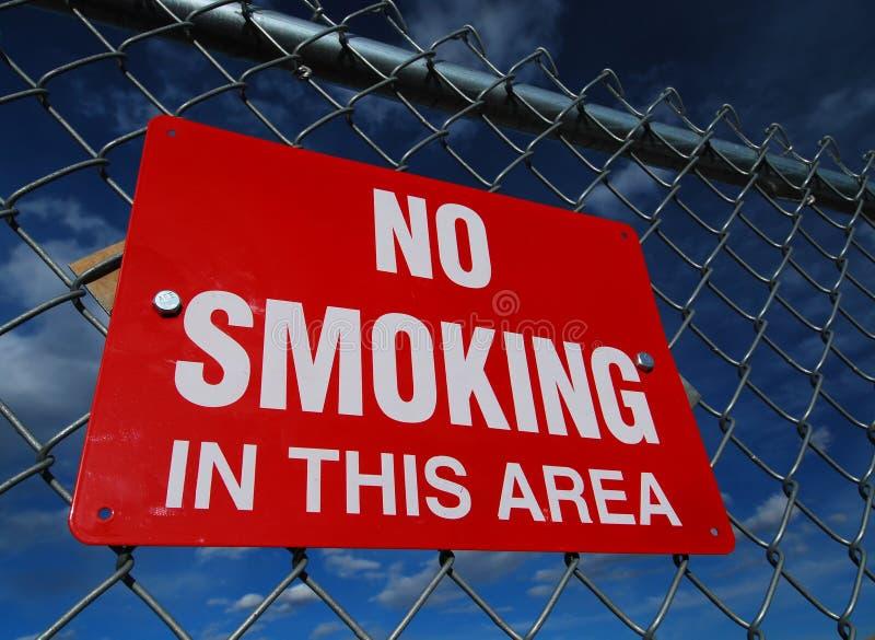 De no fumadores - aislado imagenes de archivo