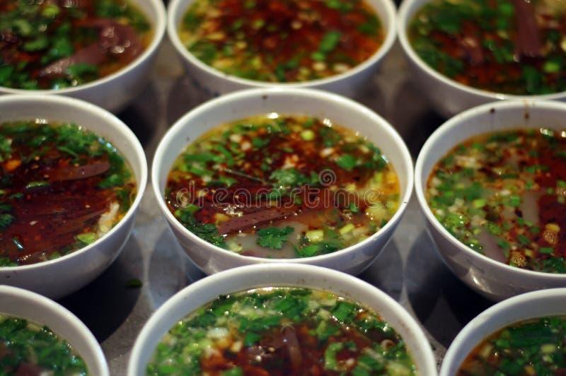 De noedel Chinees van de voedselsnack royalty-vrije stock foto