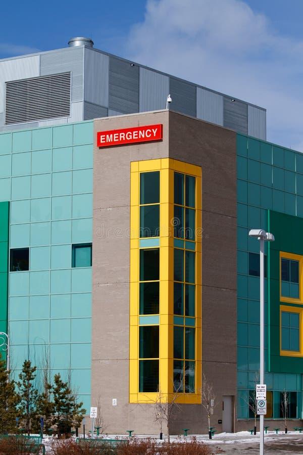 De Noodsituatie van het ziekenhuis royalty-vrije stock foto