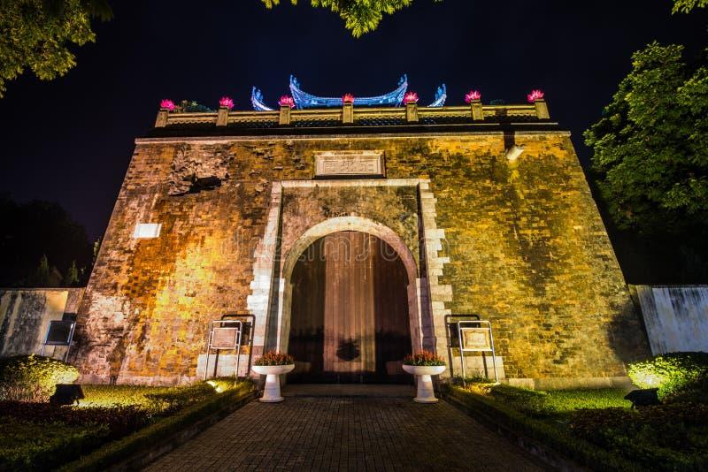 De Noordelijke Poort van Hanoi royalty-vrije stock fotografie