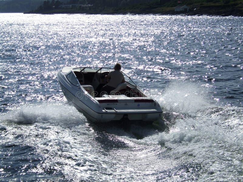 De Noorse Boot van de Motor stock foto's
