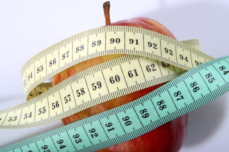 De norm van het dieet stock foto