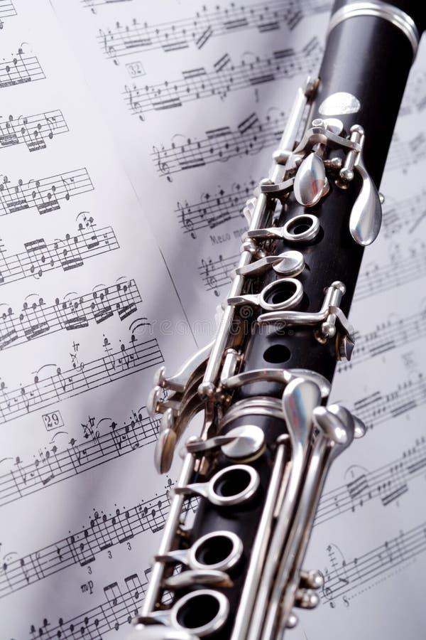 De nota's van de jazz stock afbeelding