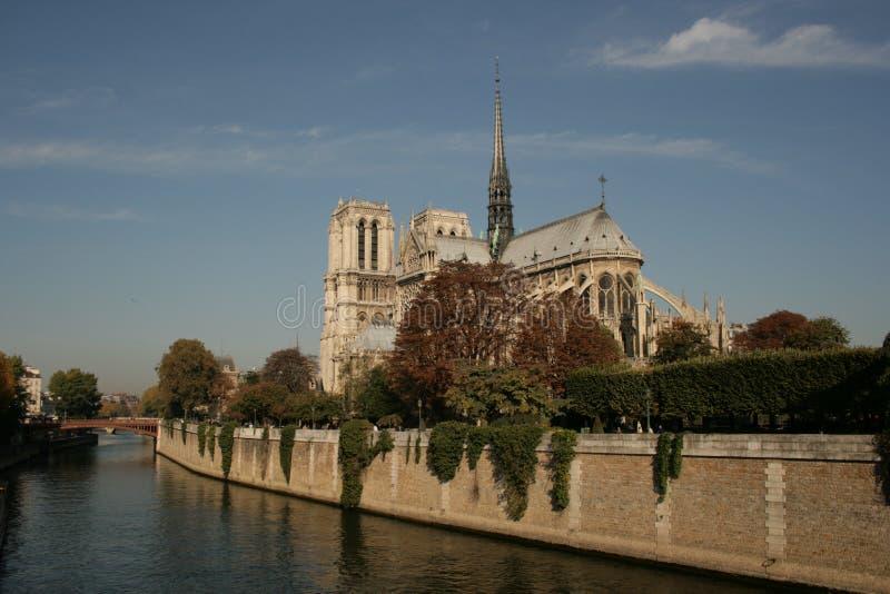 de notre巴黎贵妇人 免版税库存图片