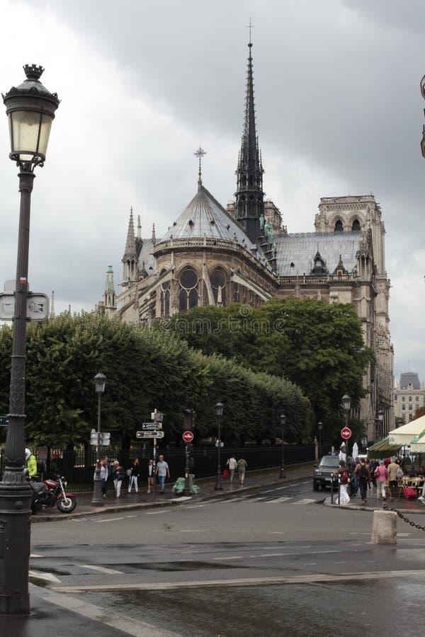 de notre巴黎贵妇人 图库摄影