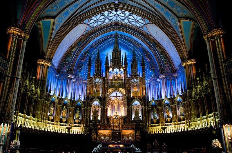 de notre damme Montrealskiego fotografia royalty free