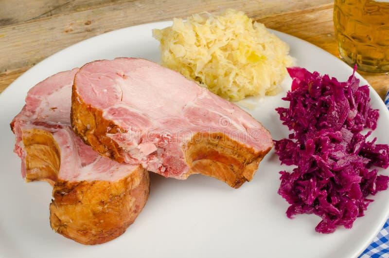 De nourriture toujours la vie allemande image stock