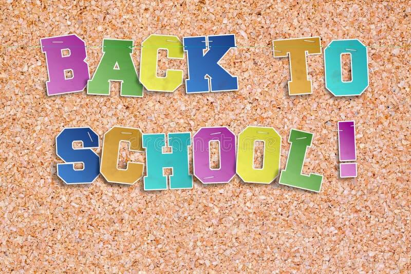 De nouveau à l'école ! photo libre de droits