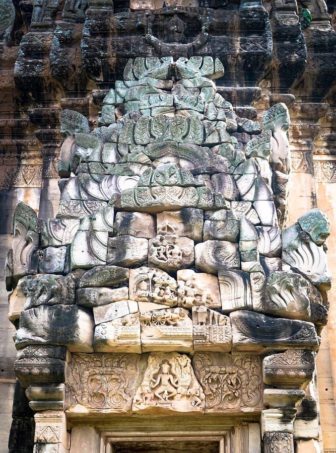 8 DE NOVIEMBRE DE 2018, PROVINCIA DE NAKHON RATCHASIMA, TAILANDIA: Parque histórico de Phimai, Prasat Hin Pimai en Nakhon Ratchas fotografía de archivo
