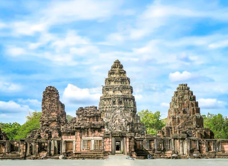 8 DE NOVIEMBRE DE 2018, PROVINCIA DE NAKHON RATCHASIMA, TAILANDIA: Phimai hola imagen de archivo libre de regalías