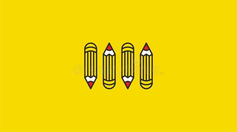 De nuevo a bandera de escuela, cartel, diseño plano colorido, backgound del vector P?gina web libre illustration
