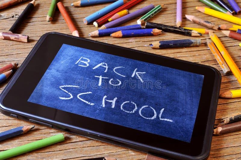 De nuevo a escuela fotos de archivo
