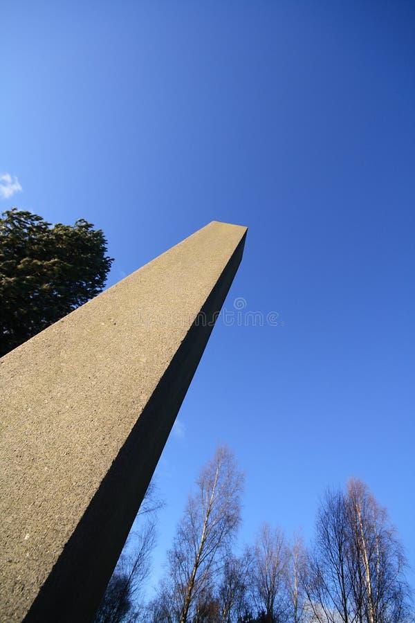 De obelisk van de steen royalty-vrije stock afbeelding