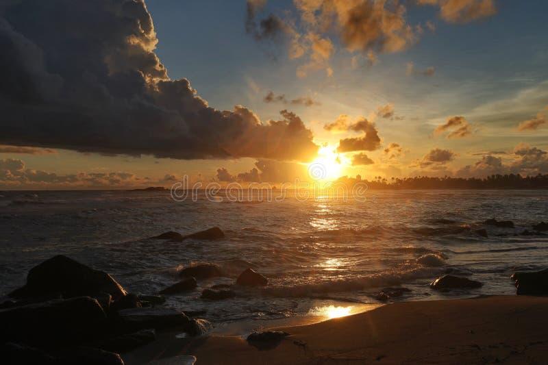 De Oceaan royalty-vrije stock afbeeldingen
